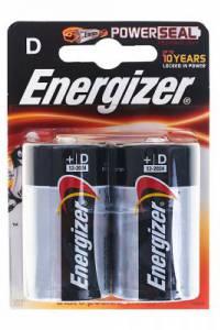 Батарея Energizer D LR20 (2шт)