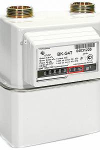 Счетчик газа Эльстер BK-G4T левый