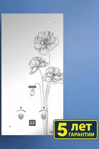 Газовая колонка NEVA 4510 Glass (черный цветок)