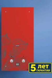 Газовая колонка NEVA 4510 Glass (красный цветок)