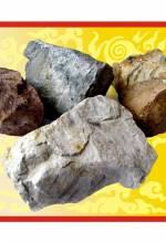 """Камни для бани """"Кварцит"""" колотый, 20 кг коробка"""