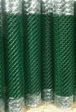 Сетка рабица ПВХ 50х50 2,0м х 10м зеленая