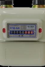 Счетчик газа СГД G4 ТК (аналог ВК G4Т)